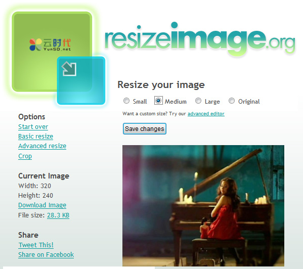 resizeimage,快捷在线修改图片大小