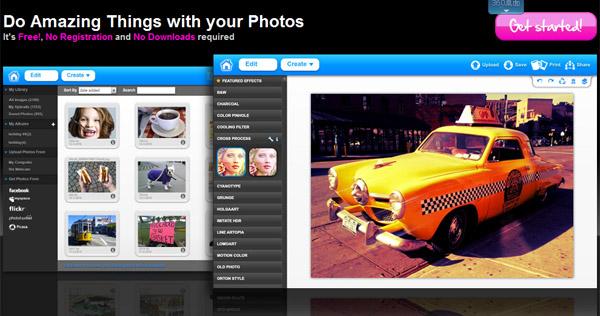 befunky,傻瓜化的在线个性图片处理软件