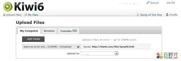 Kiwi6,免费MP3音乐外链网盘
