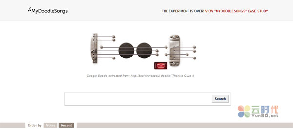 MyDoodleSongs-谷歌在线吉他