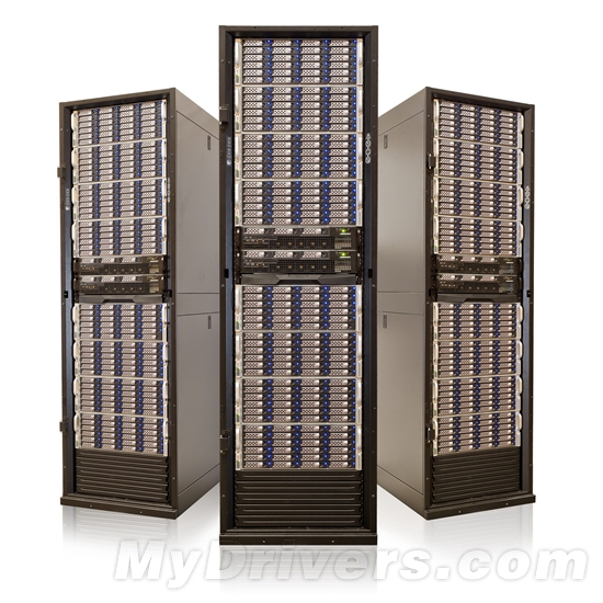 50万美元的1PB存储机柜是个什么样子