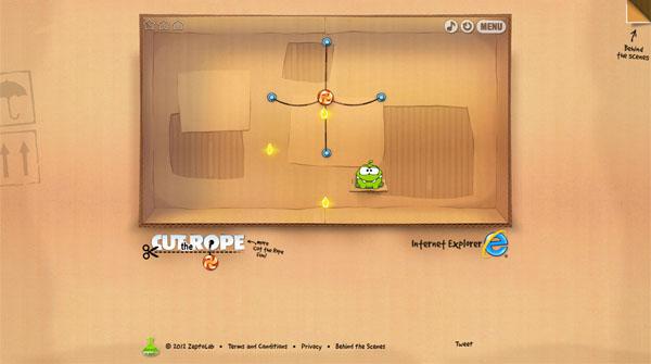 HTML5游戏:割绳子Cut the Rope