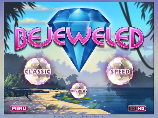 HTML5游戏:宝石迷阵Bejeweled 在线版