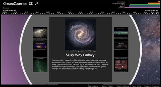 在线观看宇宙演化史:ChronoZoom