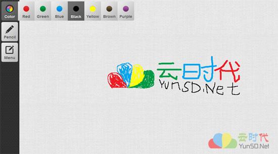 免费云端在线涂鸦画板:Awwapp