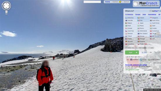 360度在线观看世界,心一定在路上:MapCrunch