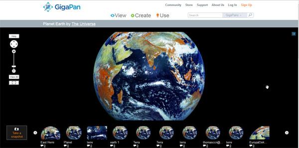 在线观看1.21亿像素地球全景照片