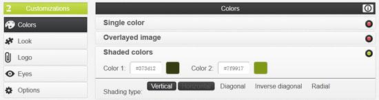 在线制作个性彩色二维码:Unitag