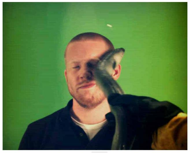 Eel slap:小样看你不爽,用鳗鱼抽你!